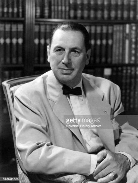 Juan Domingo Peron Argentine general and politician wearing black armband to commemorate his wife Evita's death 1952 Peron after serving in several...
