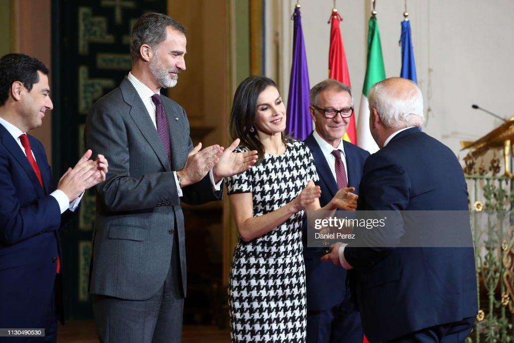 Spanish Royals Attend 'Bellas Artes' Golden Medal Awards : News Photo