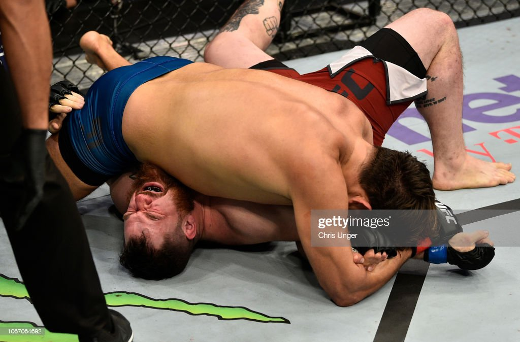 The Ultimate Fighter Finale: Espino Diepa v Frazier : News Photo