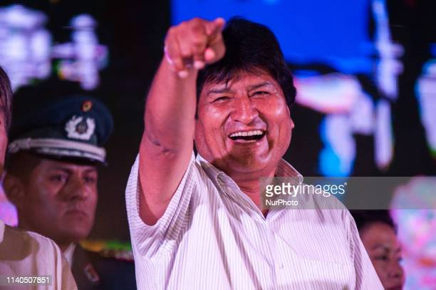 Juan Evo Morales Ayma president of the Plurinational State of Bolivia