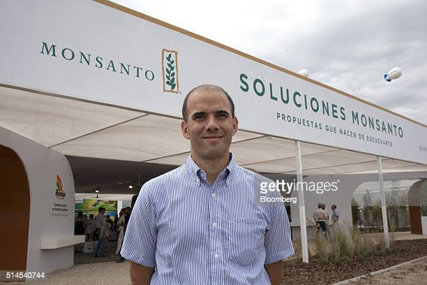 Juan Farinati vice president of Asia Pacific for Monsanto co stands for a photograph during the Expoagro agricultural fair in Buenos Aires Argentina...