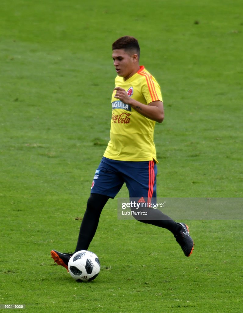 Colombia Training Session