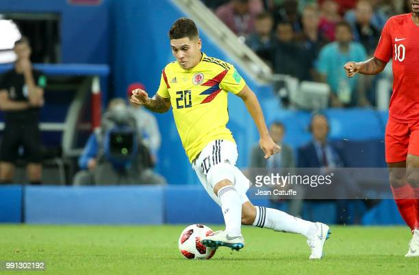 4fdd12d9fda Juan Fernando Quintero of Colombia during the 2018 FIFA World Cup Russia  Round of 16 match