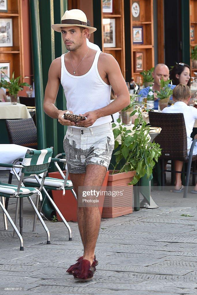 Juan Fran Sierra is seen on July 10, 2015 in Portofino, .
