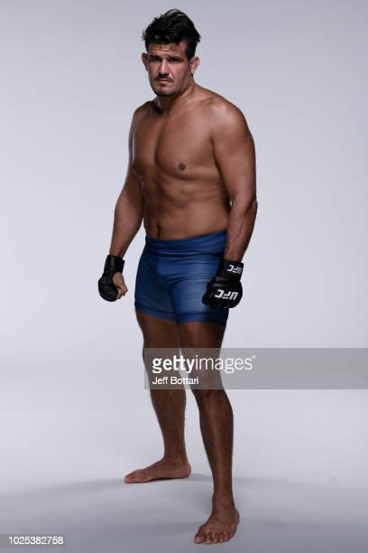 Juan Francisco Espino Diepa of Spain poses for a portrait during the filming of The Ultimate Fighter Heavy Hitters on JULY 13 2018 in Las Vegas Nevada