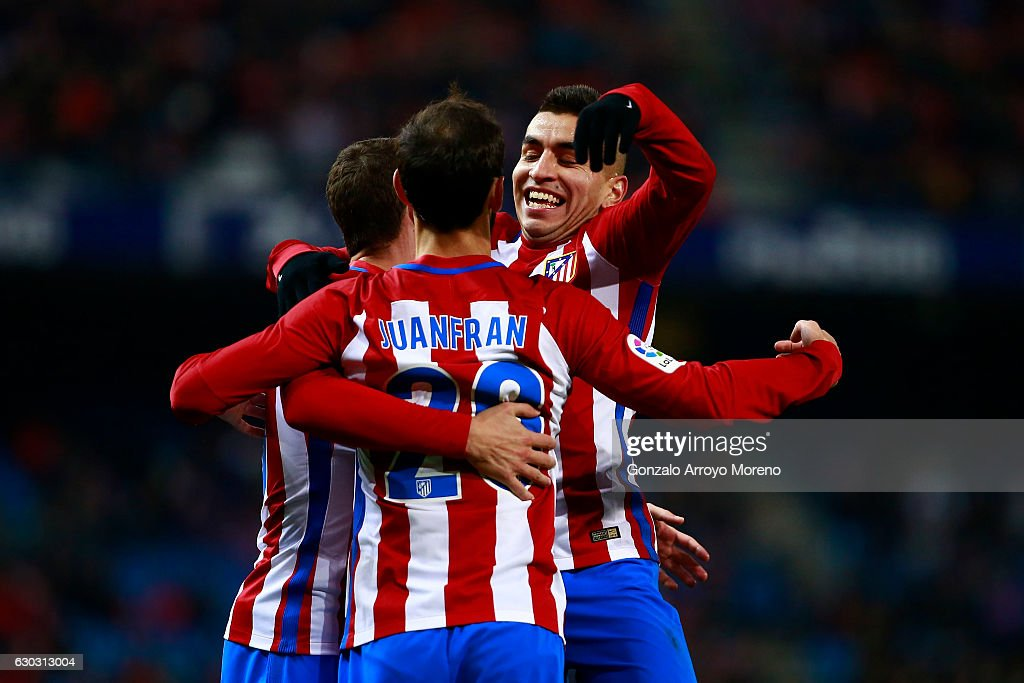 Juan Francisco Torres Alias Juanfran Of Atletico De Madrid Celebrates News Photo Getty Images