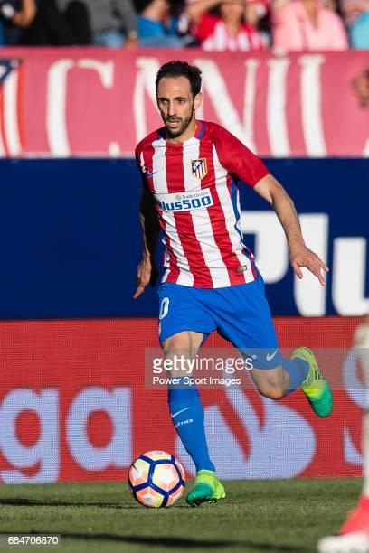Juan Francisco Torres Belen Juanfran of Atletico de Madrid in action during the La Liga match between Atletico de Madrid vs Osasuna at Estadio...