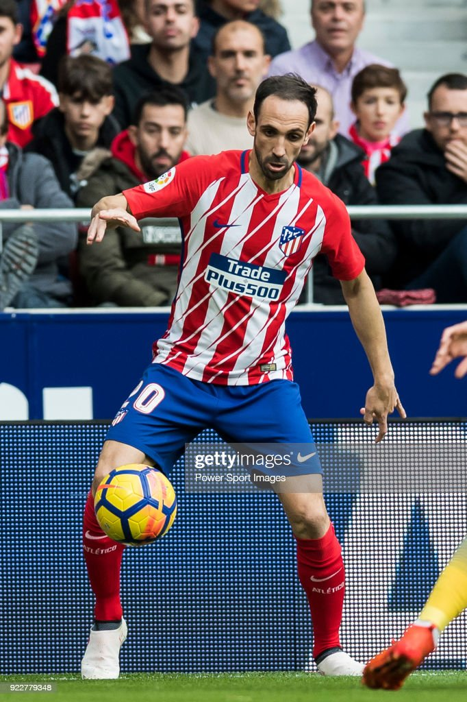 Juan Francisco Torres Belen, Juanfran, of Atletico de Madrid in action during the La Liga 2017-18 match between Atletico de Madrid and UD Las Palmas at Wanda Metropolitano on January 28 2018 in Madrid, Spain.