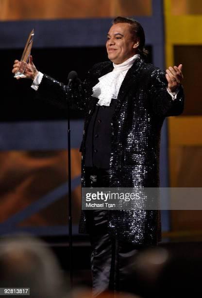 Juan Gabriel onstage at the 10th Annual Latin Grammy Awards heldA at Mandalay Bay on November 5 2009 in Las Vegas Nevada