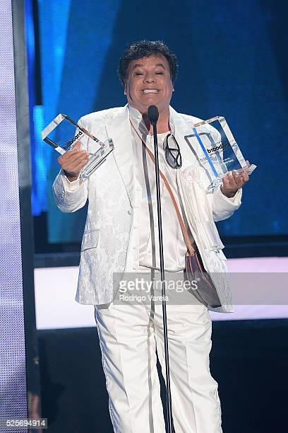 Juan Gabriel onstage at the Billboard Latin Music Awards at Bank United Center on April 28 2016 in Miami Florida