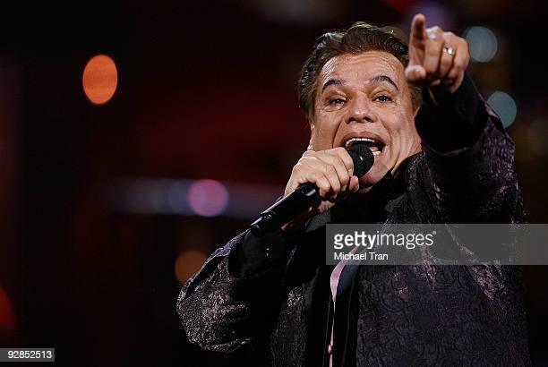 Juan Gabriel performs onstage at the 10th Annual Latin Grammy Awards held at Mandalay Bay on November 5 2009 in Las Vegas Nevada