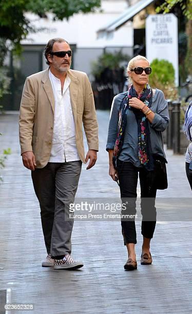 Juan GomezAcebo and Winston H Carney are seen on September 30 2016 in Madrid Spain