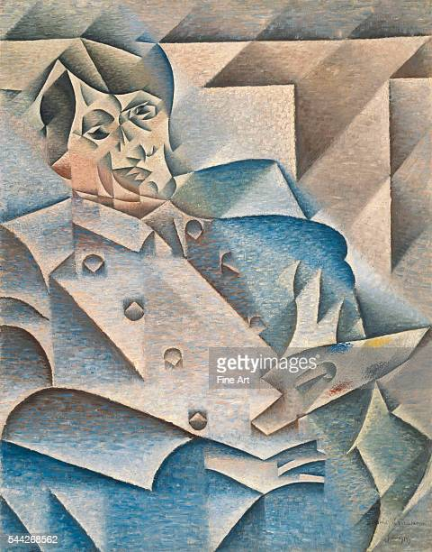 Juan Gris Portrait of Pablo Picasso JanuaryFebruary 1912 oil on canvas 933 x 744 cm Art Institute of Chicago