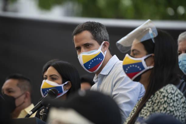 VEN: Guaido Urges Venezuela Election Deal And Sanctions As Spur