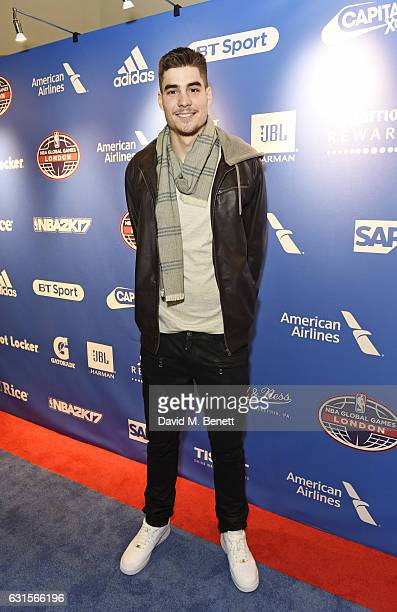 Juan Hernangomez attends the NBA Global Game London 2017 after party at The O2 Arena on January 12 2017 in London England