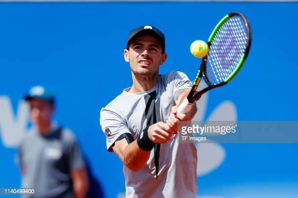 Juan Ignacio Londero of Argentina controls the ball during the BMW Open by FWU at MTTC IPHITOS on May 01 2019 in Munich Germany