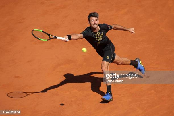Juan Ignacio Londero of Argentina in action during day 8 of the 2019 French Open at Roland Garros stadium on June 2 2019 in Paris France