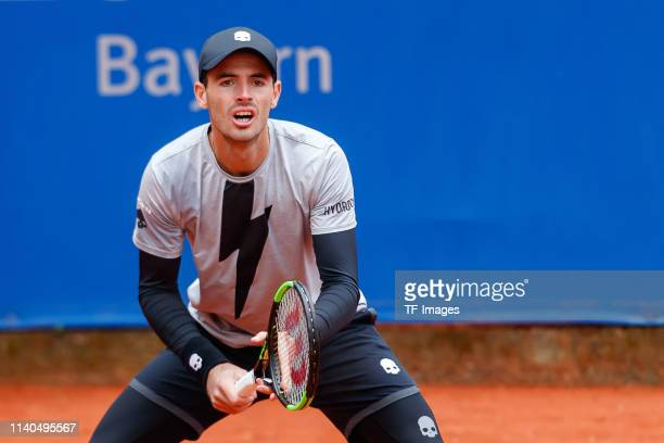 Juan Ignacio Londero of Argentina looks on during the BMW Open by FWU at MTTC IPHITOS on April 30 2019 in Munich Germany