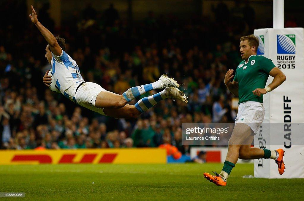 Ireland v Argentina - Quarter Final: Rugby World Cup 2015 : News Photo