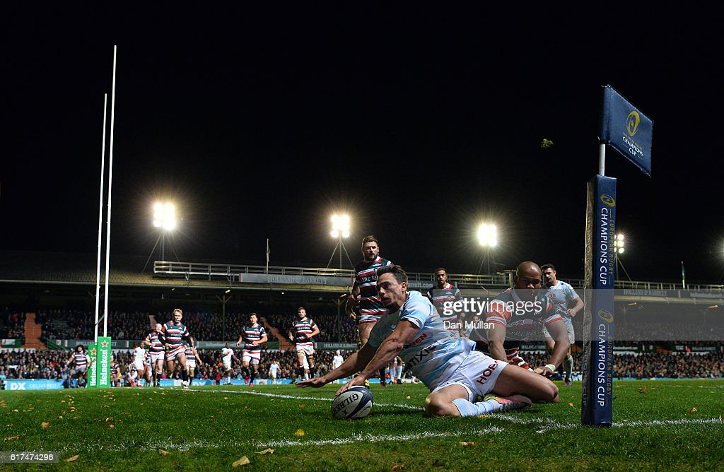 Leicester Tigers v Racing 92 - European Rugby Champions Cup