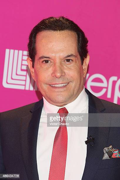Juan Jose Origel attends the Liverpool Fashion Fest Autumn/Winter 2015 at Televisa San Angel on September 3 2015 in Mexico City Mexico