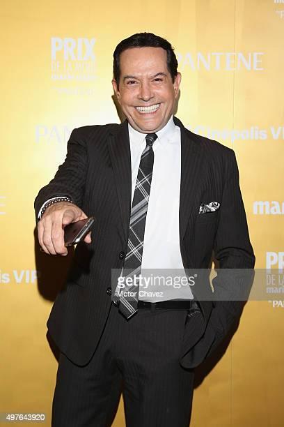 Juan Jose Origel attends the Prix De La Mode Marie Claire at Hotel Hyatt Campos Eliseos on November 17 2015 in Mexico City Mexico