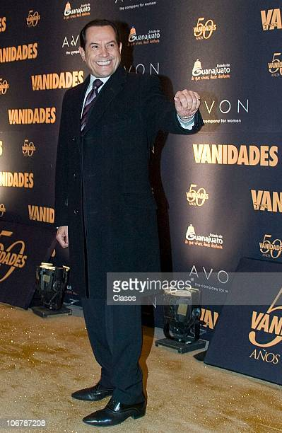 Juan Jose Origel attends to the 50th anniversary of Vanidades magazine on November 10 2010 in Mexico City Mexico
