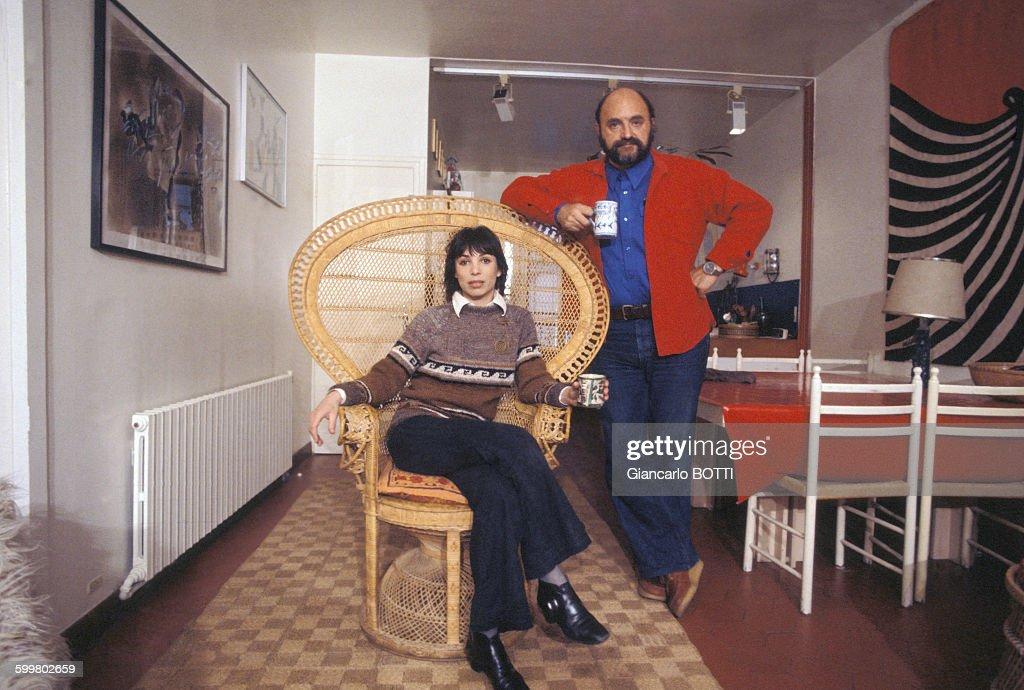 Juan Luis Bunuel et son épouse Joyce Bunuel : Fotografía de noticias