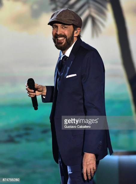 Juan Luis Guerra performs onstage during the 2017 Person of the Year Gala honoring Alejandro Sanz at the Mandalay Bay Convention Center on November...