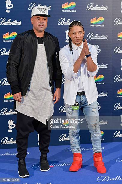 Juan Magan attends the 40 Principales Awards 2015 photocall at the Barclaycard Center on December 11 2015 in Madrid Spain