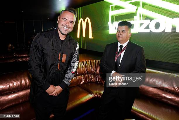 Juan Magan attends the after party for the 17th annual Latin Grammy Awards at Hakkasan Las Vegas Restaurant and Nightclub on November 17 2016 in Las...