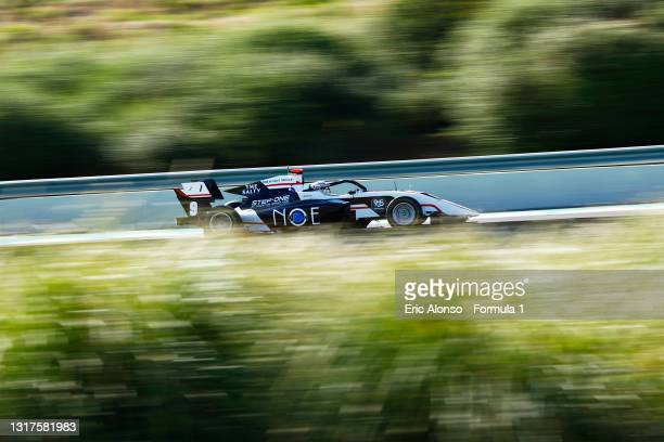 Juan Manuel Correa of United States and ART Grand Prix drives at Circuito de Jerez on May 12, 2021 in Jerez de la Frontera, Spain.