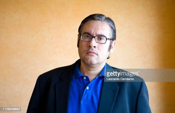 Juan Manuel De Prada Spanish writer portrait Torino Italy 27th May 2008