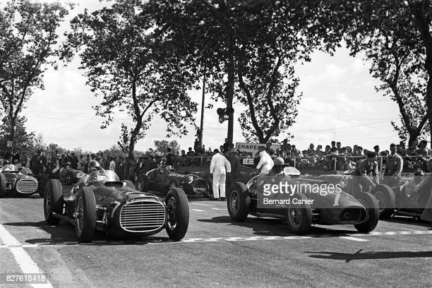 Juan Manuel Fangio, Alberto Ascari, BRM V16 Type 15, Ferrari 375, Grand Prix of Albi, FranceAlbi, France31 May 1953.
