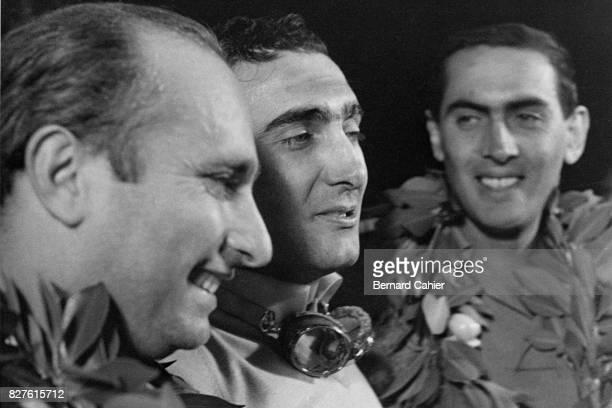 Juan Manuel Fangio Eugenio Castellotti Luigi Musso Grand Prix of Sebring Sebring 24 March 1956