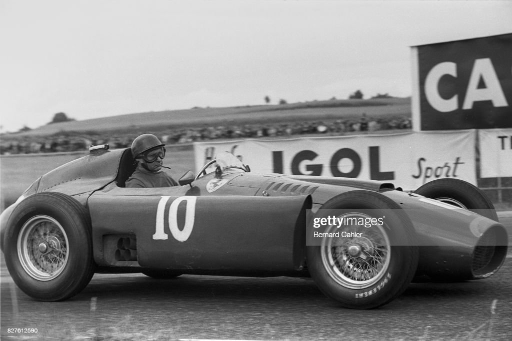 Juan Manuel Fangio, Grand Prix Of France : ニュース写真