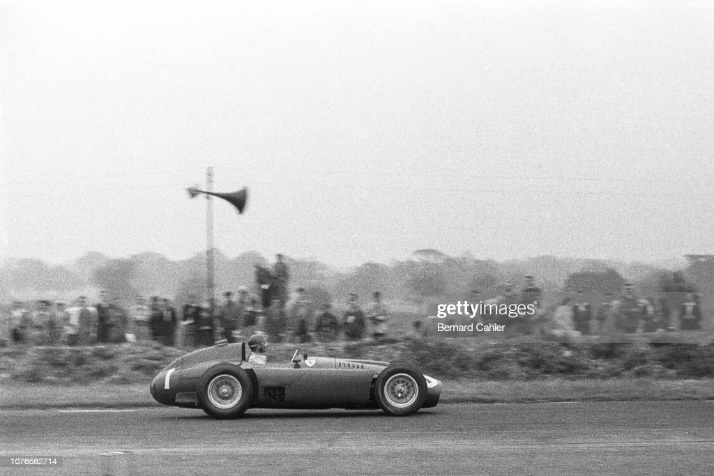 Juan Manuel Fangio, Grand Prix Of Great Britain : Foto jornalística