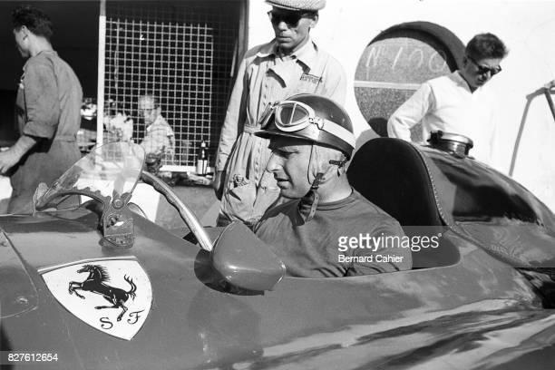 Juan Manuel Fangio, Ferrari D50, Grand Prix of Italy, Monza, 02 September 1956.