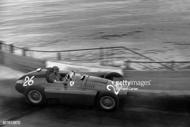 Juan Manuel Fangio, Ferrari D50, Grand Prix of Monaco, Monaco, 13 May 1956.