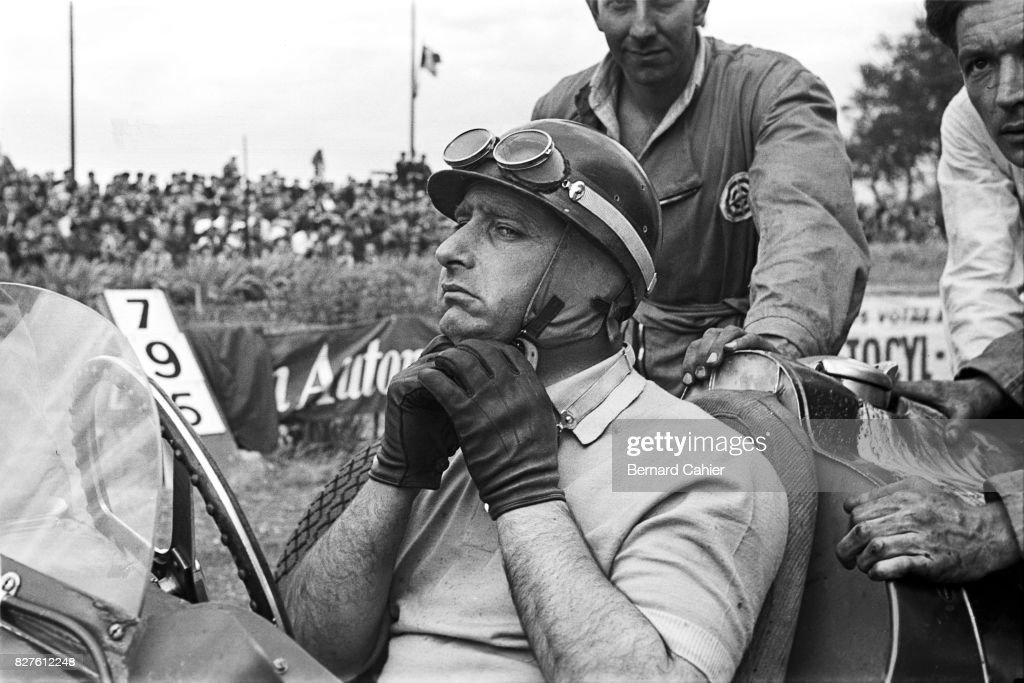 Juan Manuel Fangio, Grand Prix Of Albi : News Photo