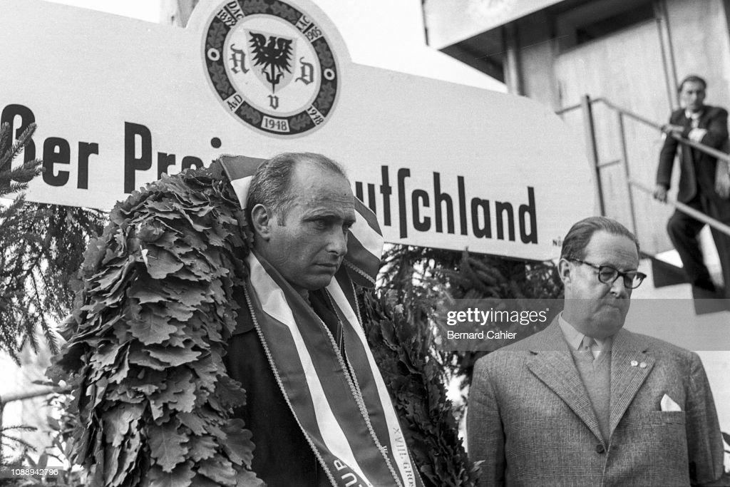 Juan Manuel Fangio, Grand Prix Of Germany : Photo d'actualité