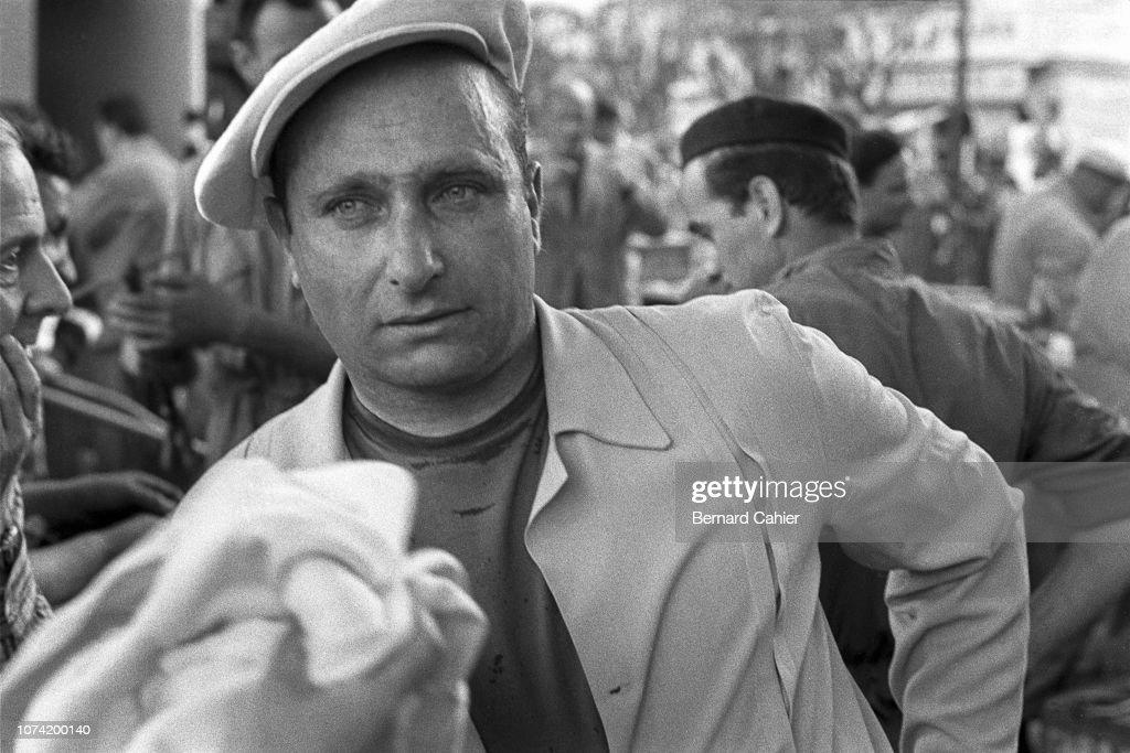 Juan Manuel Fangio, Grand Prix Of Monaco : News Photo