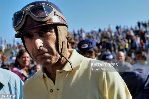Juan Manuel Fangio Grand Prix of the United States West Long Beach 28 March 1976 A oneoff return to racing for a demonstration race