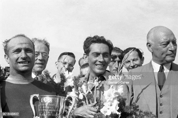 Juan Manuel Fangio Luigi Musso Grand Prix of the Netherlands Circuit Park Zandvoort 19 June 1955
