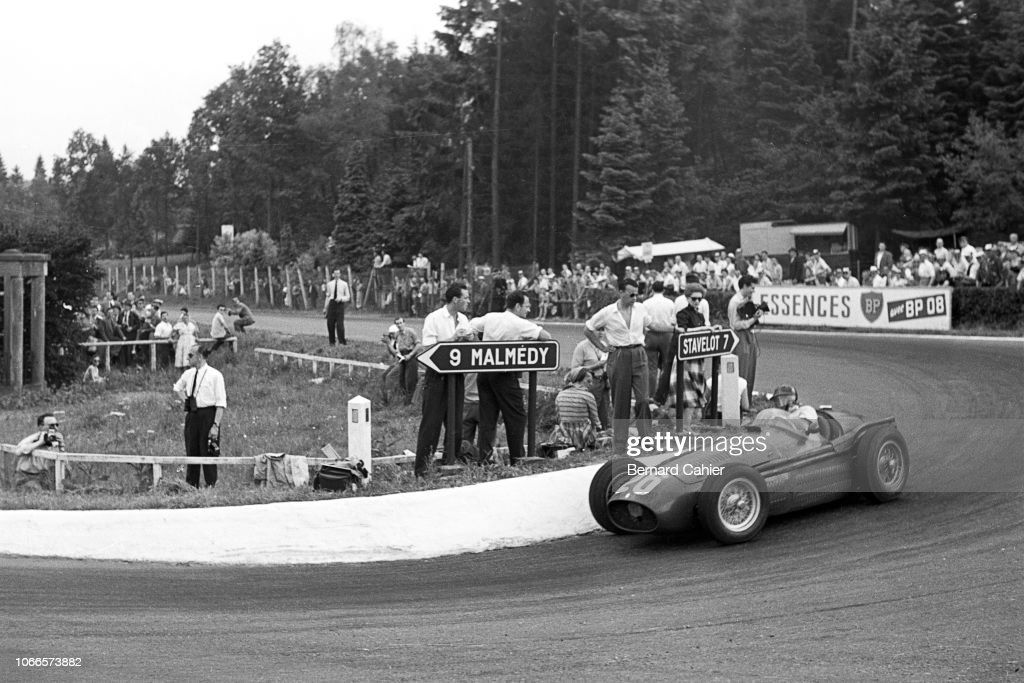 Juan Manuel Fangio, Grand Prix Of Belgium : News Photo