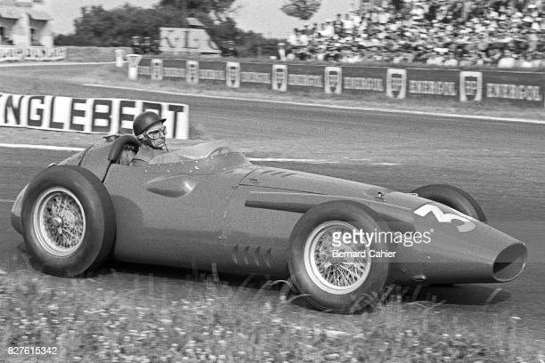 Juan Manuel Fangio Maserati 250F Grand Prix of France Reims 06 July 1958