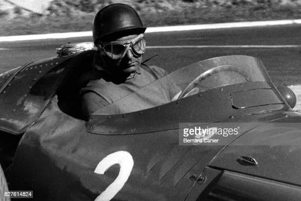 Juan Manuel Fangio, Maserati 250F, Grand Prix of France, Rouen-Les-Essarts, 07 July 1957.