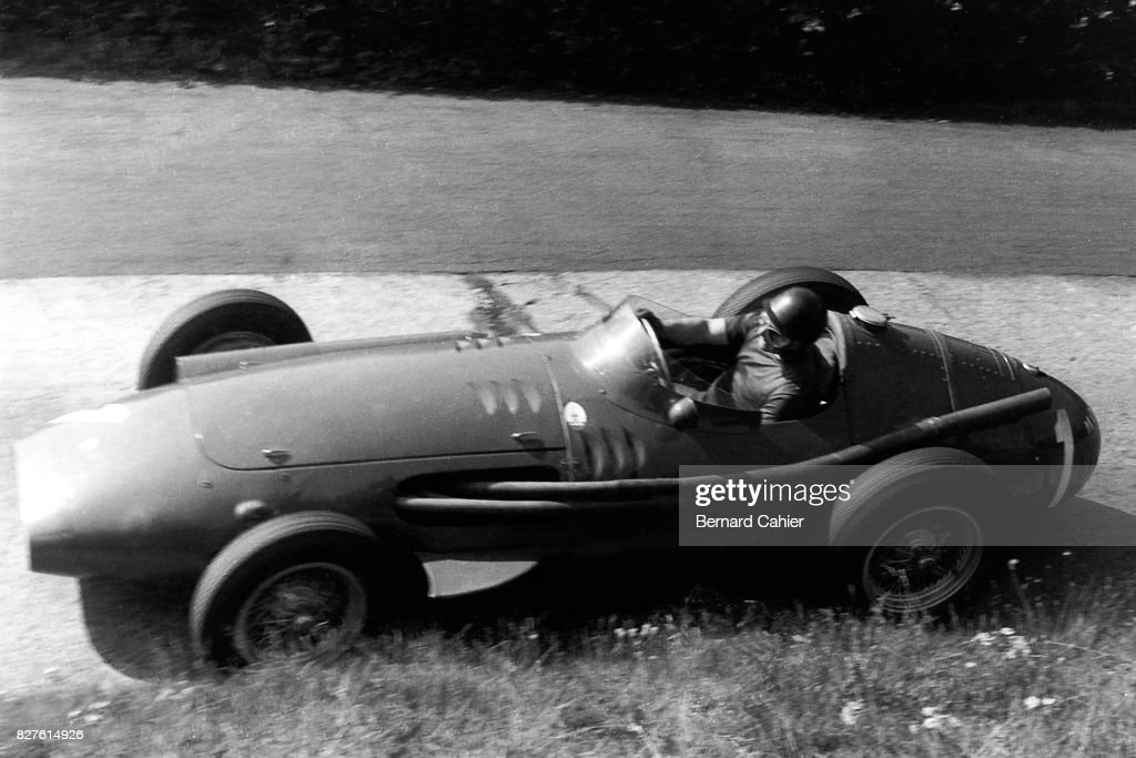 Juan Manuel Fangio, Grand Prix Of Germany : News Photo