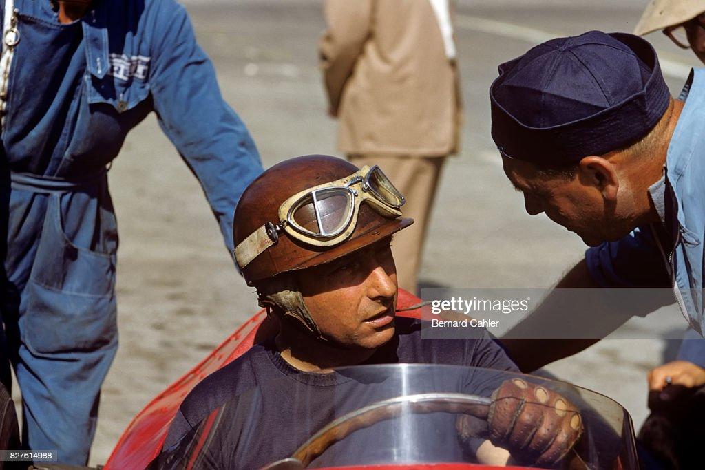 Juan Manuel Fangio, Grand Prix Of Germany : Nachrichtenfoto