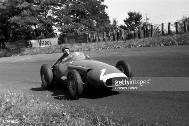 Juan Manuel Fangio Maserati 250F Grand Prix of Germany Nurburgring 04 August 1957